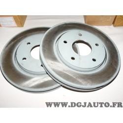 Paire disques de frein avant 302mm diametre ventilé 68032944AB pour chrysler grand voyager fiat freemont dodge journey