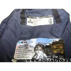 Paire chaines neige TRX PRO housse transport potentiellement déchirée N°470 944470 pour pneu roue jante 4x4 et utilitaires 31/11