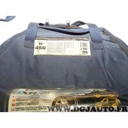Paire chaines neige TRX PRO housse transport potentiellement déchirée N°450 944450 pour pneu roue jante 4x4 et utilitaires 265/6