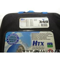 Paire chaussettes neige HTX 3000 N°348 979348 pour pneu roue jante 245/75/15 255/75/15 265/70/15 215/80/16 225/75/16 245/70/16 2