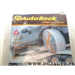 Paire chaussettes neige Autsock N°625 pour pneu roue jante 225/50/15 205/50/16 215/50/16 225/45/16 195/45/17 205/45/17 215/45/17