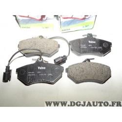 Jeux 4 plaquettes de frein avant montage lucas 598304 pour volkswagen golf 3 GTI VR6 vento