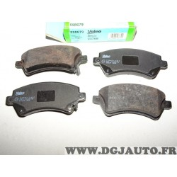 Jeux 4 plaquettes de frein avant montage TRW 598679 pour toyota corolla E110 E120 E150 verso E121