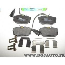 Jeux 4 plaquettes de frein arriere montage lucas 598650 pour ford galaxy seat alhambra volkswagen sharan