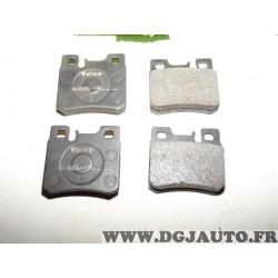 Jeux 4 plaquettes de frein arriere montage teves 598272 pour mercedes 190 W201 classe C E SL SLK W124 W202 W210 R170 R129