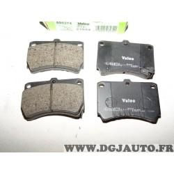 Jeux 4 plaquettes de frein avant montage sumitomo 598274 pour mazda 323 MX3