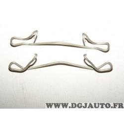 Lot 2 ressorts etrier de frein A1189 pour plaquettes de frein JCD France n° 01708