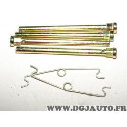 Kit coulisseaux ressort etrier de frein A1113 pour plaquettes de frein JCD France N° 01243 01280 01484
