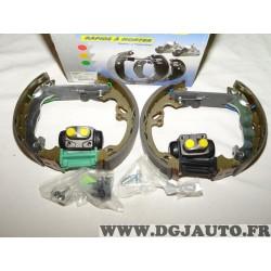 Kit frein arriere prémonté montage lucas 203.2x39mm cylindre 20.64mm PM370 OEK449 pour ford focus 1