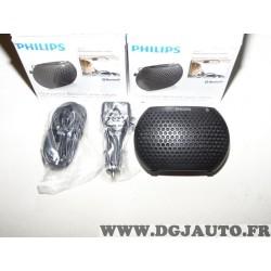 1 Kit mains libres bluetooth Philips CAB11 CAB11/00 haut parleur