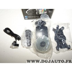 Support telephone mobile iphone 4 et 4S avec cable chargeur allume cigare 010-11898-00