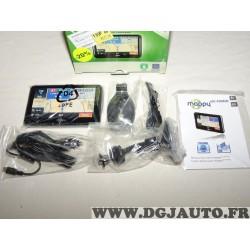 Pack GPS navigateur Mappy ULTI490ND ULTI 490 ND avec ventouse cables