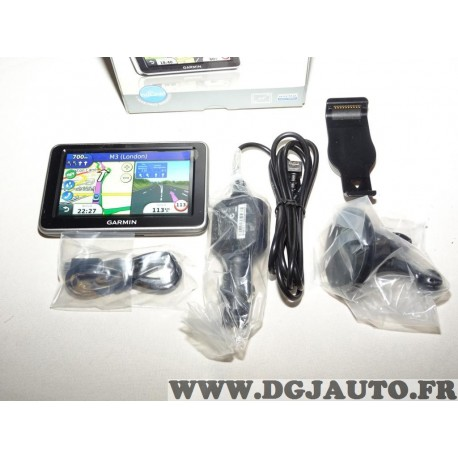 Pack GPS navigateur Garmin Nulink ! Nulink! 2340 avec ventouse cables