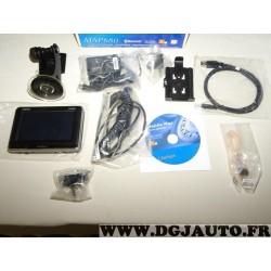Pack GPS navigateur Clarion MAP780 avec ventouse cables cd chargeur