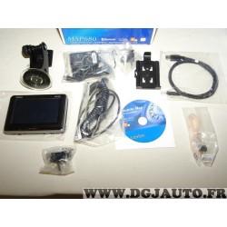 Pack GPS navigateur Clarion MODELE EXPO MAP780* avec ventouse cables cd chargeur