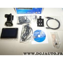 Pack GPS navigateur Clarion MAP680 avec ventouse cables cd chargeur
