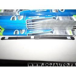 Paire balais essuie glace 2x 700mm souple silencio xtrm valeo VM408 574317 pour peugeot 407 mercedes classe S W221