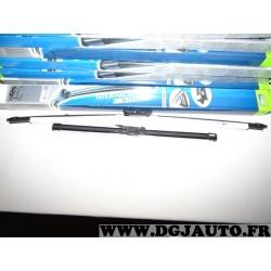 Paire balais essuie glace 650mm + 400mm souple silencio xtrm valeo VM426 574375 pour opel corsa D partir de 09/2006