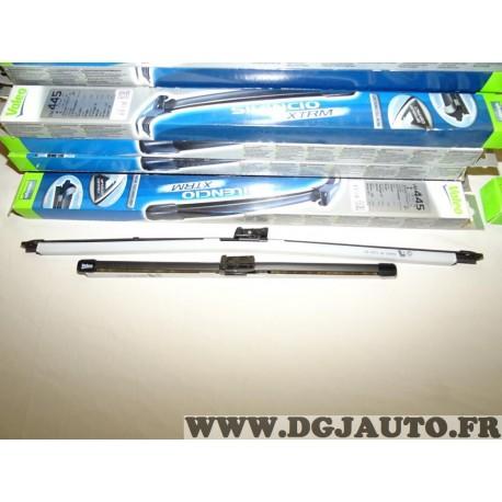 Paire balais essuie glace 600mm + 400mm souple silencio xtrm valeo VM445 574645 pour citroen C3 picasso fiat doblo 3 ford kuga r