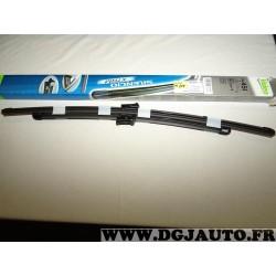 Paire balais essuie glace 650mm + 475mm souple silencio xtrm valeo VM451 574651 pour ford mondeo 3 partir de 06/2007 volvo C70 p