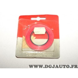 Rouleau bande decoration autocollante aile porte portiere parechocs rouge 501612 (stock époque)