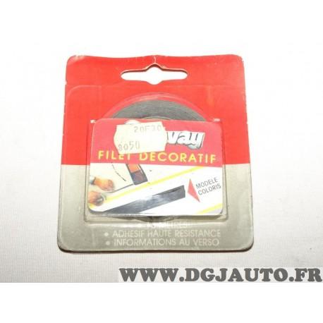 Rouleau bande decoration autocollante aile porte portiere parechocs 501610 (stock époque)