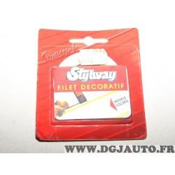Rouleau bande decoration autocollante aile porte portiere parechocs 501601 (stock époque)