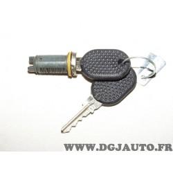Barillet de serrure poignée de porte 82430421 pour lancia dedra