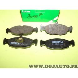 Jeux 4 plaquettes de frein avant montage teves GDB1040 pour opel astra F corsa A B tigra vectra A daewoo lanos nexia jaguar XJ X