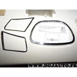 Kit encadrement chrome calandre face avant pour volkswagen ibiza 2002