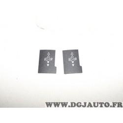 1 Collant bouton commande phare antibrouillard C2024031 pour renault
