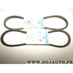 1 Courroie accessoire 5PK925 pour rover mini hyundai i10 kia picanto