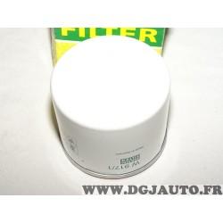 Filtre à huile W917/1 pour renault 9 11 18 21 25 R9 R11 R18 R21 R25 avantime clio 2 espace 1 2 3 fuego laguna 1 2 master 1 safra