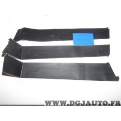 Lot 3 bandes autocollante protection montant de porte (pliure voir photo) 8659VK pour peugeot 306