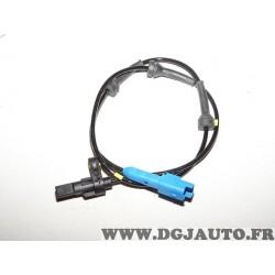 Capteur ABS roue arriere frein tambours 4545.A0 pour peugeot 206 206+