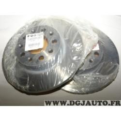 Paire disques de frein arriere plein 278mm diametre 51964082 pour fiat 500X partir de 2015 jeep renegade partir de 2018