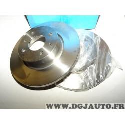 Paire disques de frein plein 257mm diametre 9004439J pour fiat croma 1 lancia thema