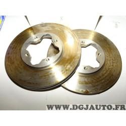 Paire disques de frein avant ventilé 282mm diametre 9004536 pour honda accord CB CC CD CE CF rover 600 618 620 623