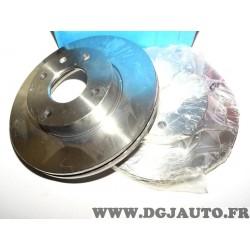 Paire disques de frein avant ventilé 260mm diametre 9004359J pour ford sierra 1 2 escort 4 IV