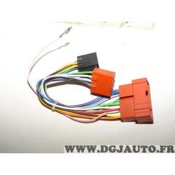 Faisceau electrique cable branchement poste radio autoradio 2533502 pour nissan tout modele partir de 1999