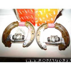 Kit frein arriere 228x42mm montage bendix GSK1072 pour renault kangoo 1