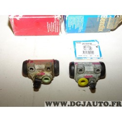 Paire de cylindre de roue frein arriere gauche + droit montage lucas 251041B 251040S pour renault 19 R19