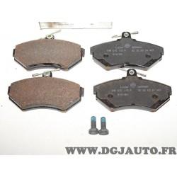 Jeux 4 plaquettes de frein avant montage lucas 1HM698151 pour volkswagen golf 3 vento polo caddy lupo seat toledo ibiza 2 cordob