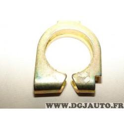 Collier fixation tuyau silencieux echappement sans vis 46460073 pour fiat palio siena doblo 1 fiorino 3 III qubo strada