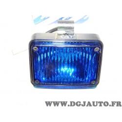 Feu clignotant arriere bleu 46546850 pour fiat marea SW version polstrada de 1999 à 2002