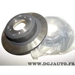 Paire de disques de frein arriere 302mm diametre plein 4615A193 pour peugeot 4008 citroen C4 aircross mitsubishi ASX outlander 2