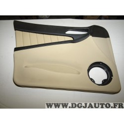 Garniture panneau de porte habillage portiere gauche cuir beige (petits accrocs) 156053103 pour alfa romeo 156 de 2001 à 2005