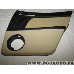 Garniture panneau de porte habillage portiere arriere droite cuir beige 156053087 pour alfa romeo 156 de 2001 à 2005