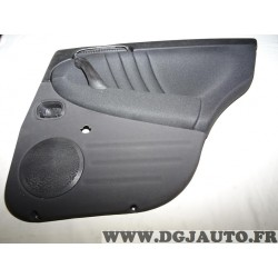 Garniture panneau de porte habillage portiere arriere droite noir (produit collant sur poignée) 156065143 pour alfa romeo 147