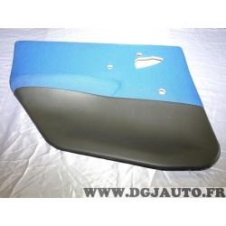 Garniture panneau de porte habillage portiere arriere gauche bleu metal 735274409 pour fiat punto 2 II de 1999 à 2003